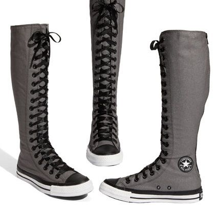 Authentic Knee High Converse For Boys