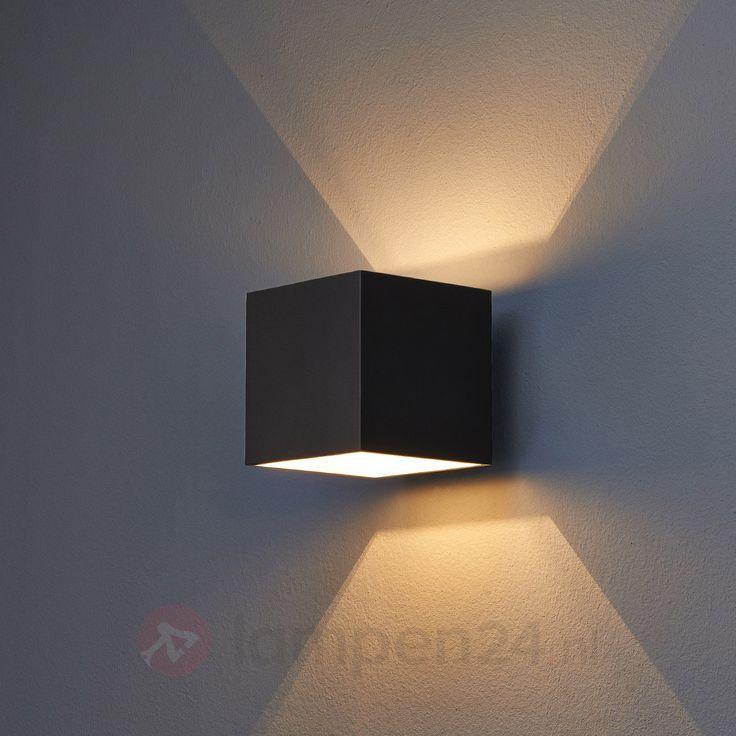 Zwarte wandlamp Almir voor G9-lampen veilig & makkelijk online bestellen op lampen24.nl