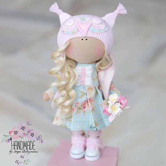 Нежные и немного волшебные куколки от @handmade_by_id будут чудесным подарком любимым людям и принесут улыбку в ваш дом!