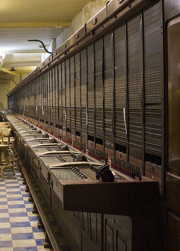abandoned phone exchange — 'Burlington' secret nuclear underground city, built 1950s