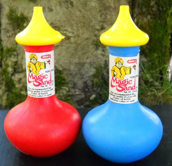 Magic Sand ... I remember it, but what exactly did we do with it?
