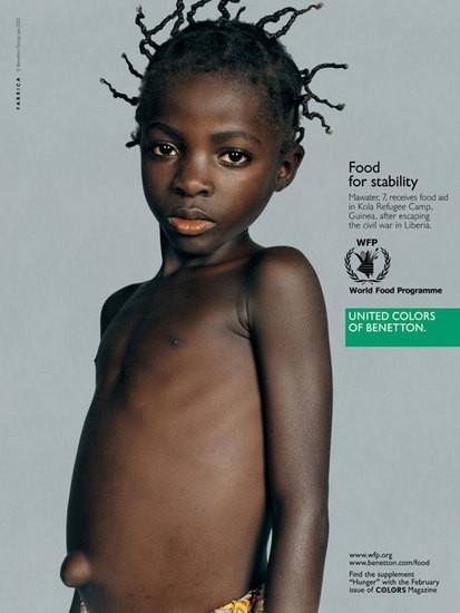 United Colors ofBenetton pioneered brands using their voices for a cause.