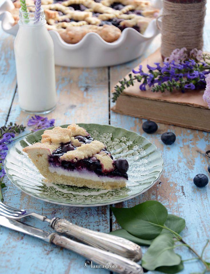 Pie al farro con mirtilli e robiola by Laura Gioia