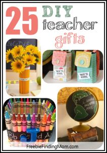 25 DIY Teacher Gifts - Thank the special people that do so much for our kids.