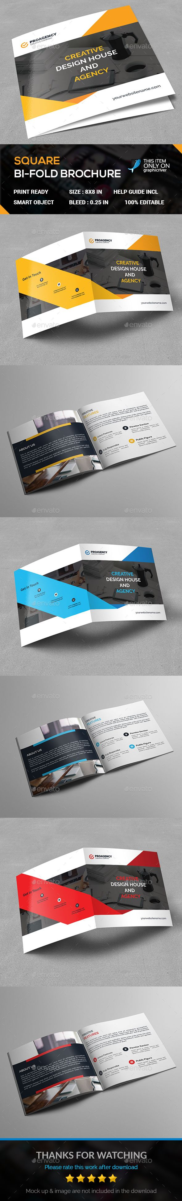 20 best bi fold brochure images on pinterest brochures bi fold square bi fold wajeb Image collections