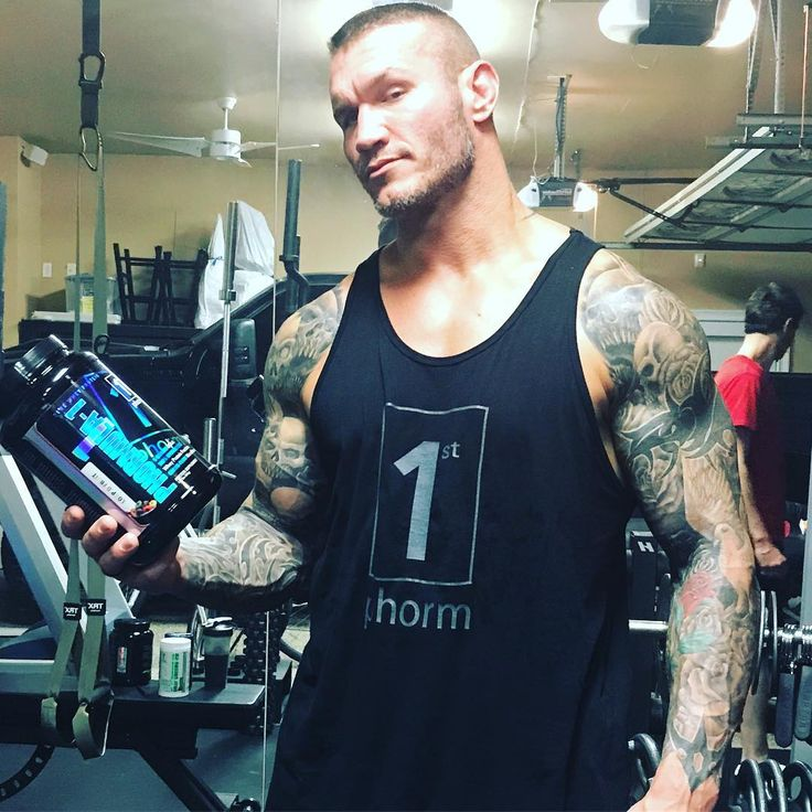"""189.6k Likes, 916 Comments - Randy Orton (@randyorton) on Instagram: """"Late night workout at home with the help of @1stphorm #phormula1protein #legionofboom…"""""""