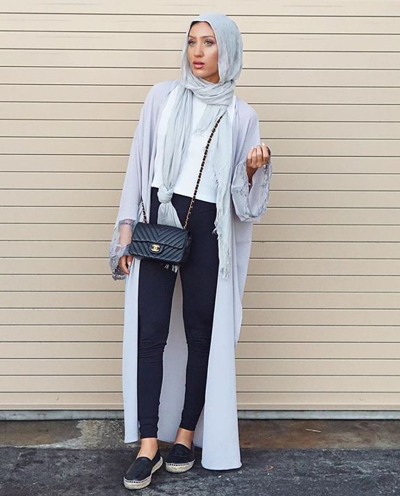 Fashion Hijab Casual Style