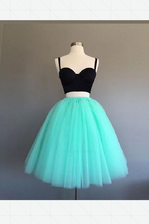 f38a39998656 Prom Dress Two Piece, Green Prom Dress, Homecoming Dresses, Cute Homecoming  Dress, Short Homecoming Dress #Prom #Dress #Two #Piece #Short #Homecoming  #Green ...