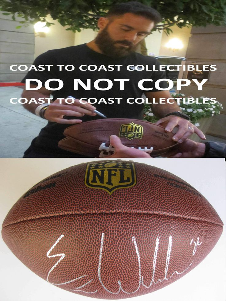 Eric Weddle, Baltimore Ravens, San Diego Chargers, Utah, Signed, Autographed,Duke Football,a Coa with the Proof Photo of Eric Signing Will Be Included