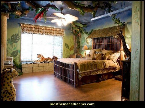 jungle theme bedroomsPhotos of Room for Joy Jacks Room  Sky bedroom designs  Safari bedroom