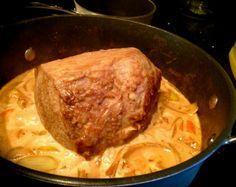 Einfaches Sonntagsessen - Rinderbraten mit viel Soße