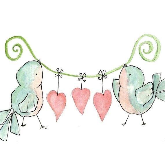 Birds & Hearts