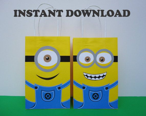 17 best ideas about minion party bags on pinterest. Black Bedroom Furniture Sets. Home Design Ideas