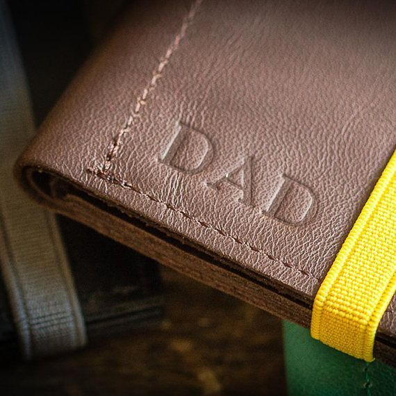Personalized Fathers Day Gift From Daughter, Personalized Leather Wallet, Custom Father's Day, Gift Men, Leather Wallet, Anniversary Gift – PinPoint | Ayelet Kowalsman – Pinterest, Etsy And Social Media
