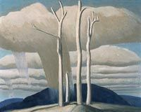 Lawren S. Harris - Les hauteurs, lac Supérieur - Musée des Beaux-Arts du Canada, Ottawa