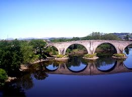 William Wallace - Braveheart - Sterling Bridge where Wallace defeated the English army near Sterling Scotland