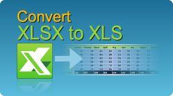 Convert Excel XLSX to XLS in C#, VB.NET, Java, PHP, ASP classic, C++, C++.NET, VB6, VBS! XLS, XLSX, XLSM, XLSB spreadsheets by EasyXLS.  #EasyXLS #Convert #Excel #XLSX #XLS
