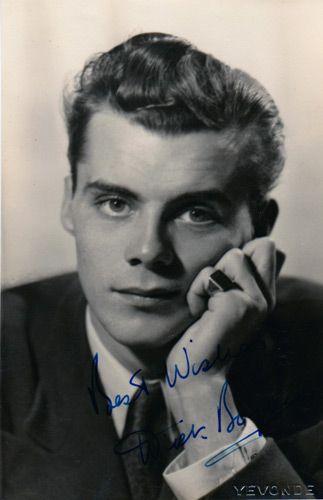 A very young [perhaps pre-WWII] Dirk Bogarde. He was born Derek Jules Gaspard Ulric Niven van den Bogaerde on March 28, 1921.