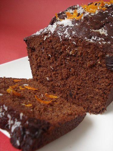 portakallı,kakaolu kek