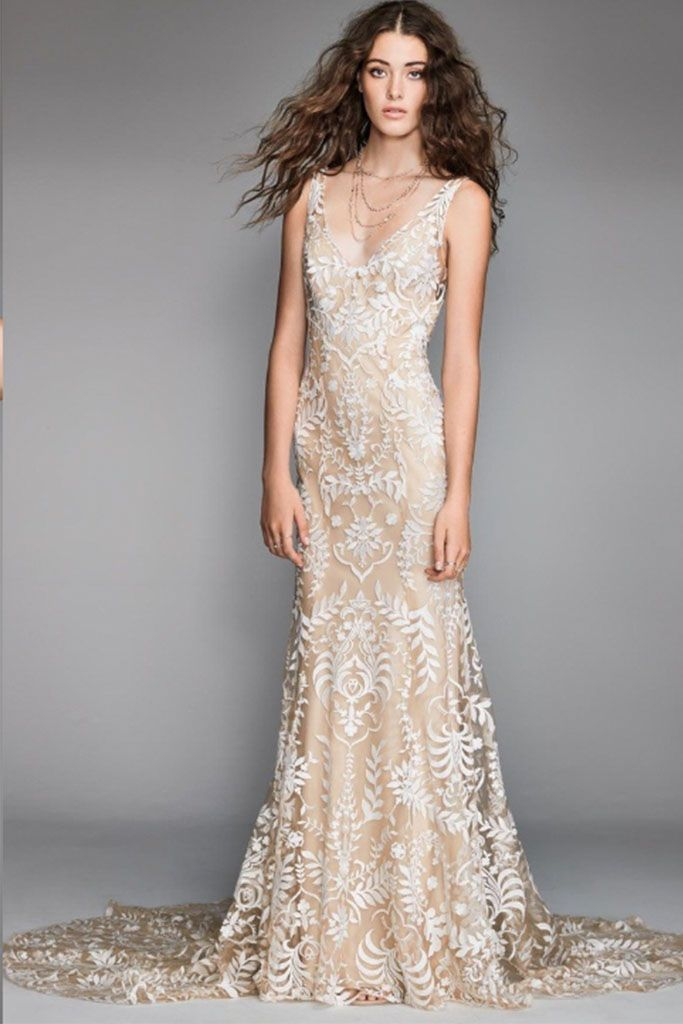 Willowby By Watters Gown Corella Front View Wedding Dresses