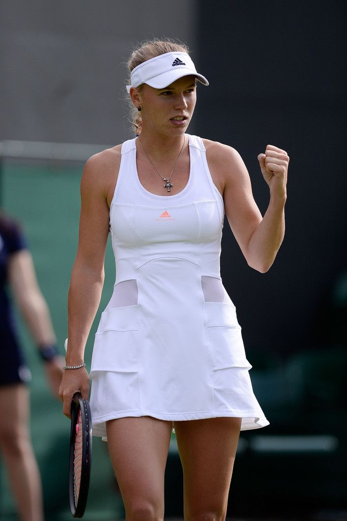 Caroline Wozniacki at Wimbledon 2013