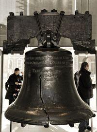 O Sino da Liberdade pode ser visto em uma viagem para Filadélfia e Amish Country #viagem #turismo #NY
