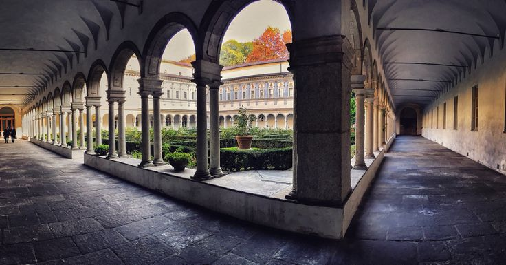 Cloister of the Facoltà Teologica Italiana, Milano