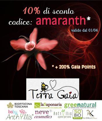 [Sconti - Promozioni] - April News da Terra Gaia Shop - La Saponaria, Alkemilla e.... | ★ Bits Of Black Moon ★