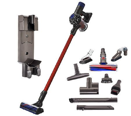 Dyson V6 Absolute Cordless Vacuum with 9 Attachments