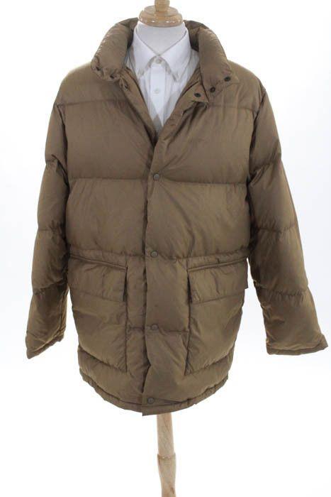 eBay  Sponsored Moncler Mens Coat Size 4 Camel Beige Crew Neck Puffer 45b8547a55a