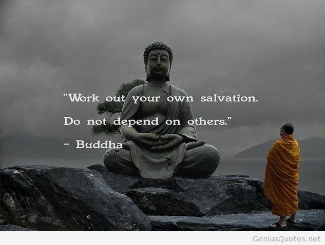 Encuentra tu propia salvación No depedas de otros