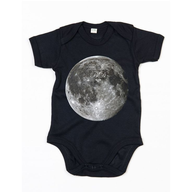 Full Moon babysuit  / eco / organic cotton / fair trade / baby clothing with attitude