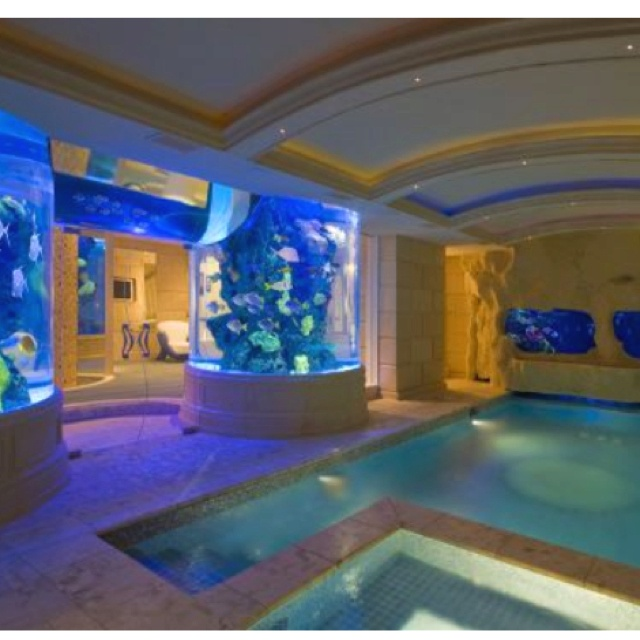 82 best aquarium dreams images on pinterest aquarium for Fish tank house