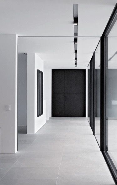 hallway lighting - TITUS  BERNHARD architects
