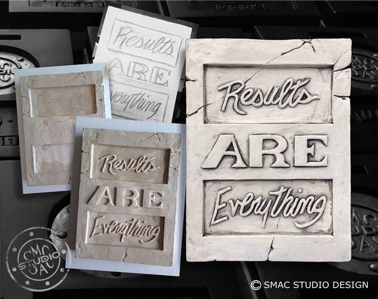 Results are everything , drawing, sculpting, quotes, sayings