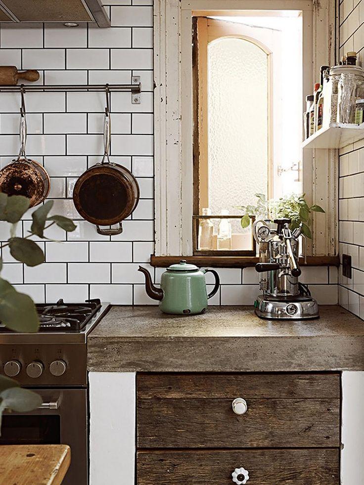 cozinha rústica | Cozinha | Pinterest | Cobre, Armários de ...
