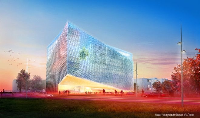 Competitive Project of the Administrative Complex on Varshavskaya Street