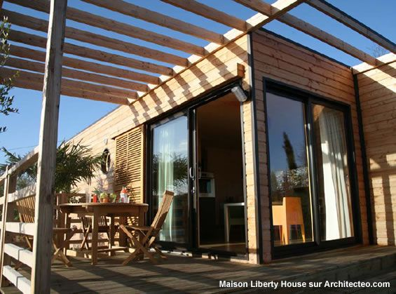 17 meilleures id es propos de maison modulaire sur pinterest construction - Maison modulaire bois ...