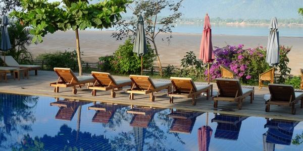 Laos, La Folie Lodge Champasak