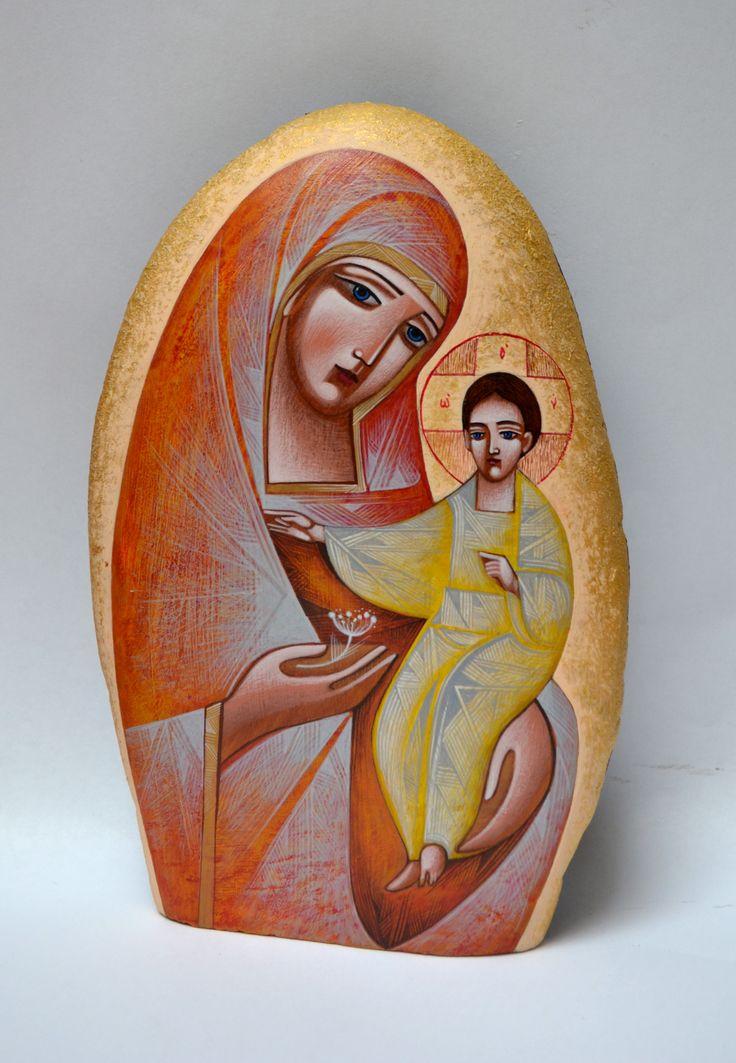 Yuriy Igor - Virgin Mary with baby Jesus
