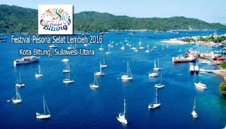 Meriah Penutupan Festival Pesona Selat Lembeh. Seni pertunjukan itu mengangkat unsur budaya lokal dipadukan dengan kecanggihan seni pertunjukan digital (video maping).