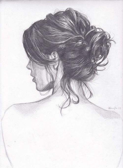 Drawing pencil drawing