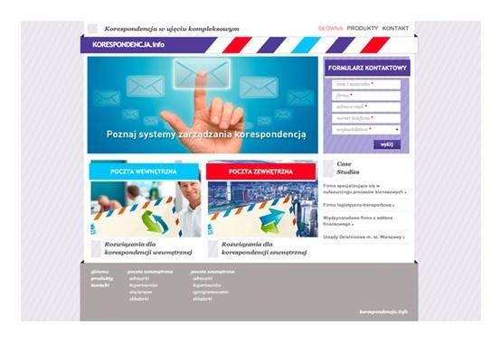 Korespondencja.info to serwis informacyjny stanowiący kompendium wiedzy na temat systemów zarządzania korespondencją.  Przygotowaliśmy go na zamówienie firmy Arcus S.A. - jednego z największych na polskim rynku dostawców zintegrowanych systemów zarządzania dokumentem i korespondencją masową.