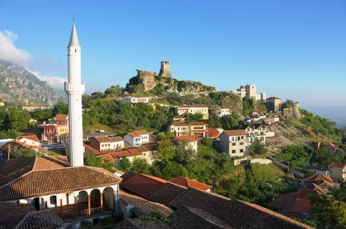 Tirana and Kruja Full Day Tour Take a chance to get to know two beautiful cities in Albania: Kruje and Tirana. Kruje provides to the visitors the great view of majestic landscape and a rich collection of historical and cultural objects. While Tirana, being the capital has something to offer for everyone.Meet with the group and leave Tirana at 9:30 am. You will be driven towards the historical town of Kruja.  Kruja is located 32 km northwest of Durres and 45 minutes by ca...