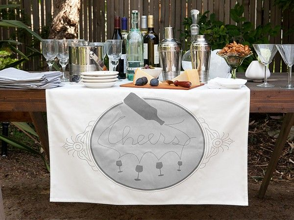 Cheers Table Banner by Tin Parade