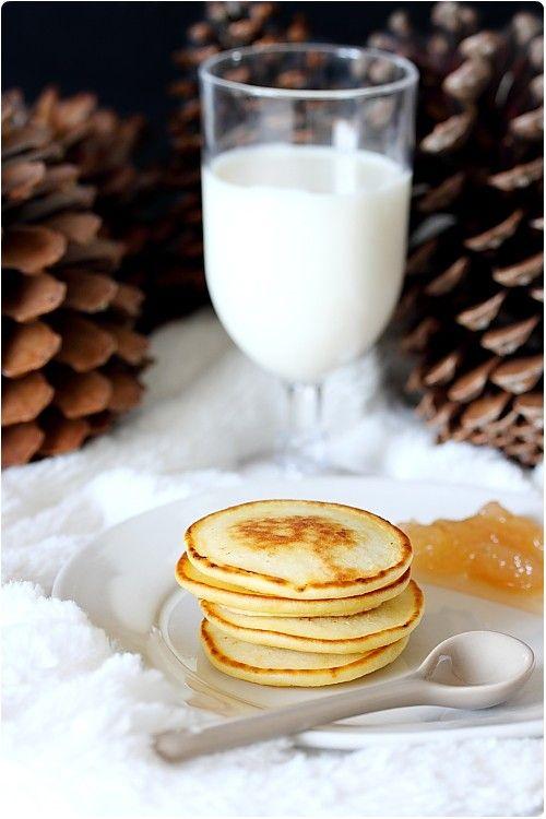 Non seulement ces pancakes se font en 5 mins montre en main, mais les ingrédients sont originaux, non pas qu'ils soient difficiles à trouver mais plutôt qu