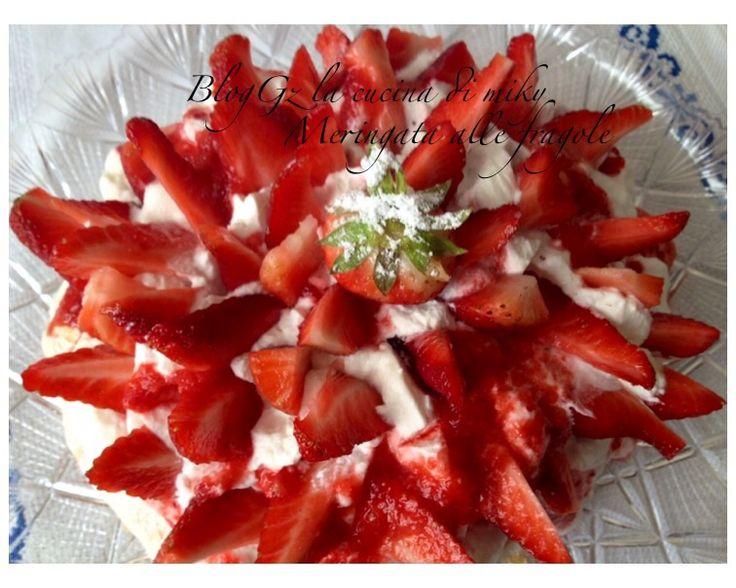 Meringata alle fragole senza glutine blogGz la cucina di miky