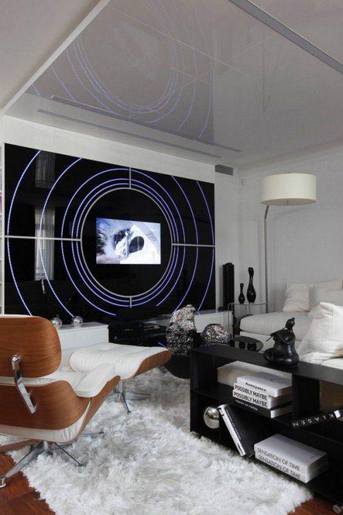 Futuristic Apartment In Space Ship Style Interesting Concept Contemporary ApartmentApartment Interior DesignInterior