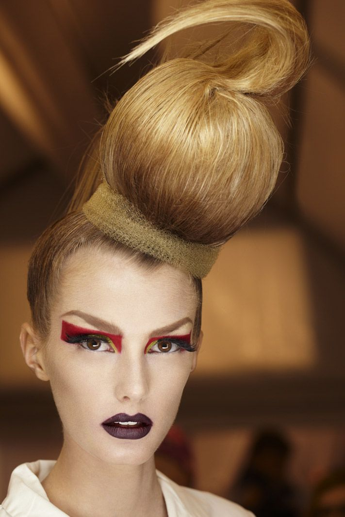 Christian Dior Haute Couture - Hair style