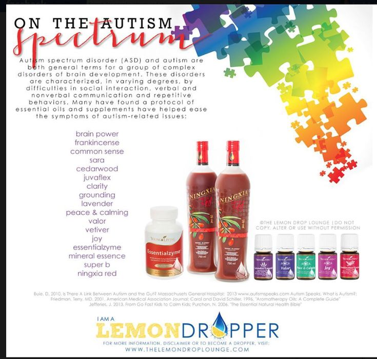 Young Living Essential Oils for Autism  Cari ARNP Purelivingoil@gma... Claim your free Higley Guide to Essential Oil Reference w/ premium starter kit enrollment https://www.youngliving.com/signup/?sponsorid=1492362&enrollerid=1492362 to purchase.